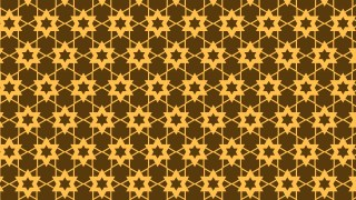 Dark Orange Seamless Star Pattern Background Illustrator