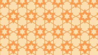 Light Orange Stars Pattern Background Vector Art