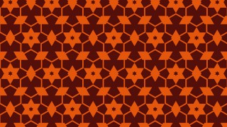 Dark Orange Seamless Stars Background Pattern Image