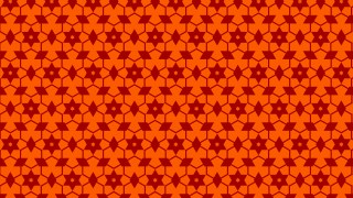Dark Orange Seamless Star Background Pattern Illustration
