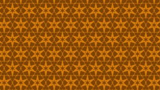 Dark Orange Seamless Star Background Pattern Vector Image