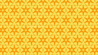 Amber Color Stars Pattern Illustrator