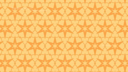 Light Orange Seamless Stars Pattern Background Graphic