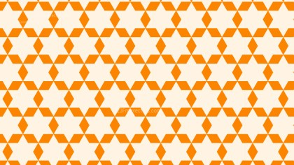 Light Orange Star Background Pattern