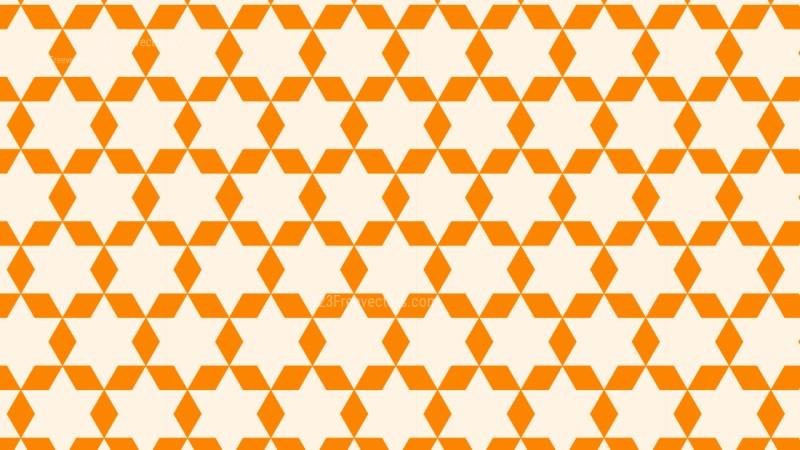 Light Orange Star Background Pattern