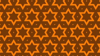 Dark Orange Stars Pattern Background Illustration