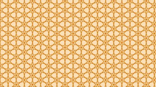 Light Orange Seamless Star Background Pattern Image