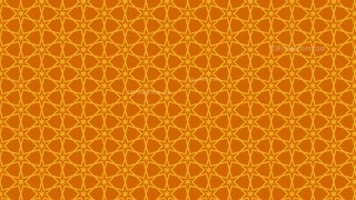 Orange Stars Pattern Vector Graphic
