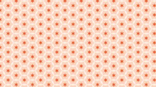 Light Orange Star Pattern Background