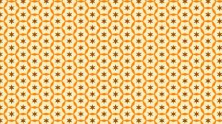 Light Orange Stars Pattern