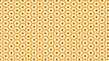 Light Orange Stars Pattern