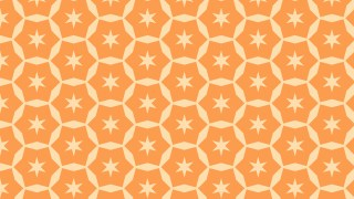 Light Orange Stars Pattern Background