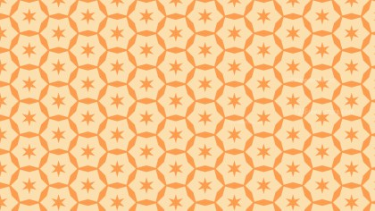 Light Orange Stars Background Pattern