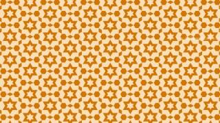 Light Orange Seamless Star Pattern Background Illustrator