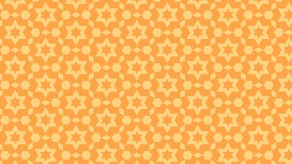 Light Orange Stars Pattern Background Vector Art