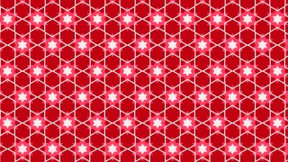 Pink Seamless Stars Background Pattern