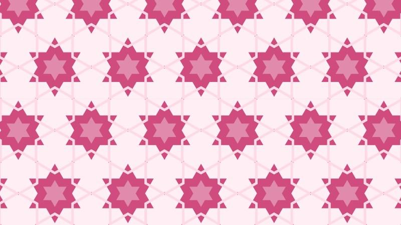 Pink Stars Pattern Background Image