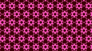 Pink Seamless Star Background Pattern