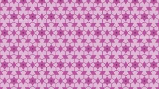 Pink Stars Pattern Illustrator