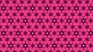 Pink Stars Background Pattern Vector