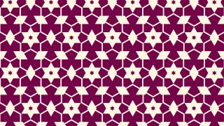 Pink Seamless Stars Pattern Vector Art