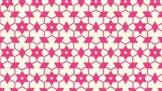 Pink Seamless Stars Pattern Background Graphic