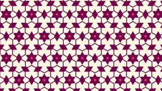 Pink Seamless Stars Background Pattern Illustration