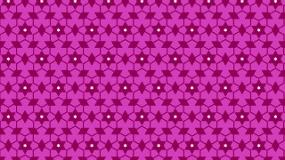 Fuchsia Star Pattern Background