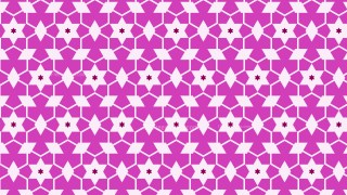 Fuchsia Star Background Pattern