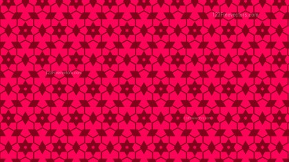 Folly Pink Stars Pattern