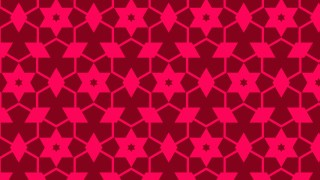 Folly Pink Stars Pattern Background