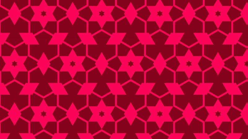 Folly Pink Stars Pattern Background
