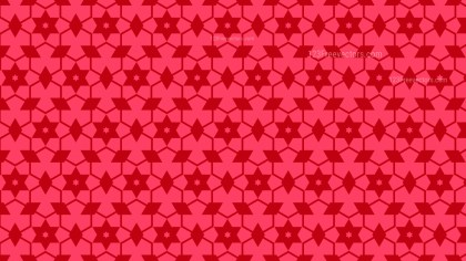 Folly Pink Seamless Stars Pattern Background