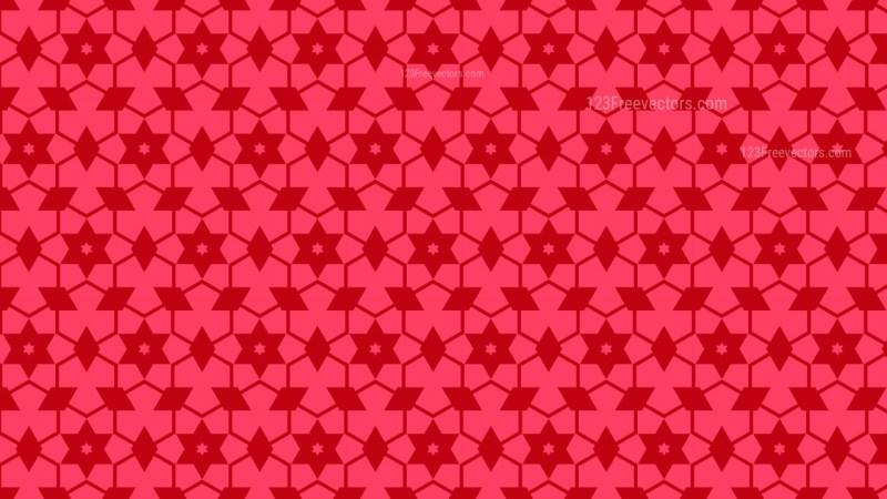 Folly Pink Seamless Stars Pattern Background