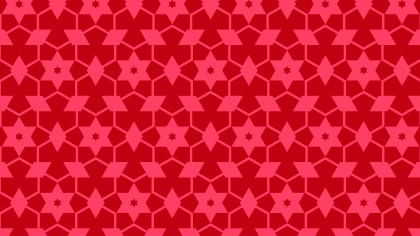 Folly Pink Seamless Stars Background Pattern