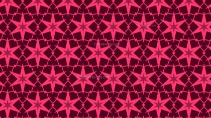 Pink Star Background Pattern Illustrator