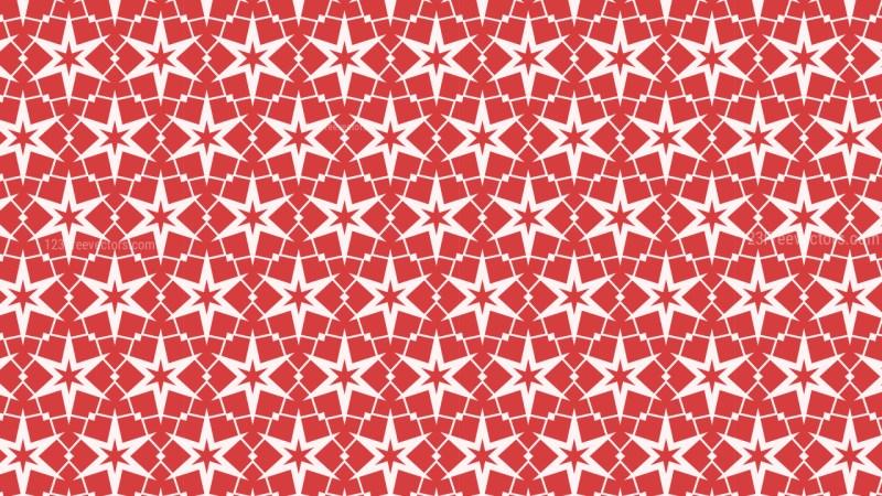 Pink Stars Pattern Graphic