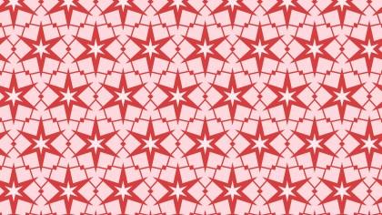 Pink Stars Pattern Background Illustration