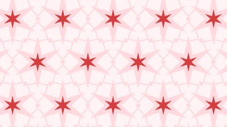Light Pink Stars Background Pattern Design