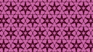 Pink Seamless Stars Pattern Image