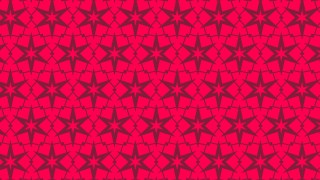 Folly Pink Star Pattern Background