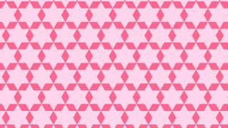 Pink Seamless Star Pattern Illustration