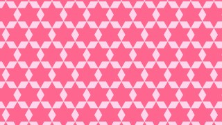 Pink Seamless Star Pattern Background Design