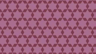 Pink Hexagram Pattern Vector Image