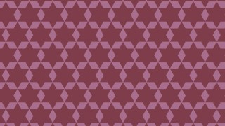 Pink Six Pointed Star Pattern Illustrator