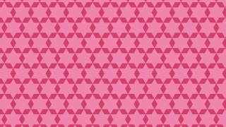 Pink Seamless Stars Pattern Vector Illustration