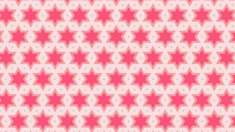 Pink Star Pattern