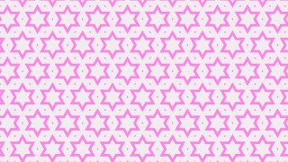 Rose Pink Star Pattern Design