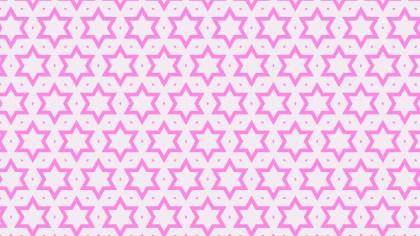 Rose Pink Star Pattern Design