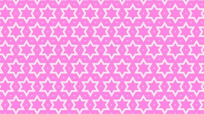 Rose Pink Star Pattern Background Image